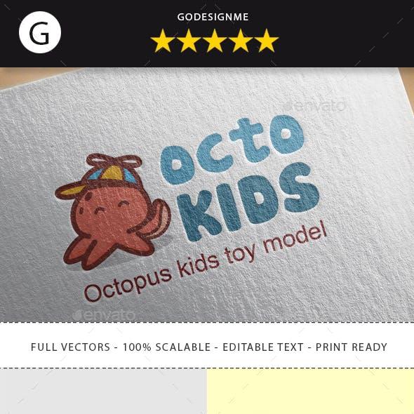 Octopus Kids Logo