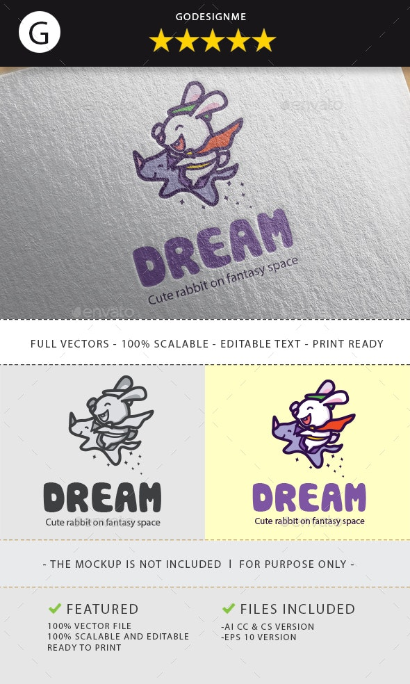 Dream Chaser Logo - Animals Logo Templates