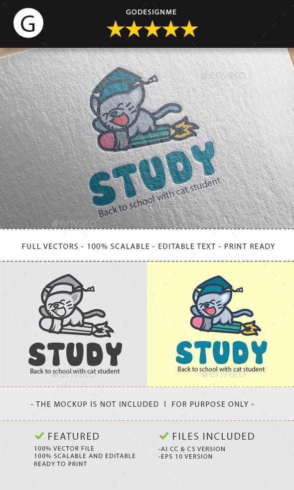 Study Logo - Animals Logo Templates