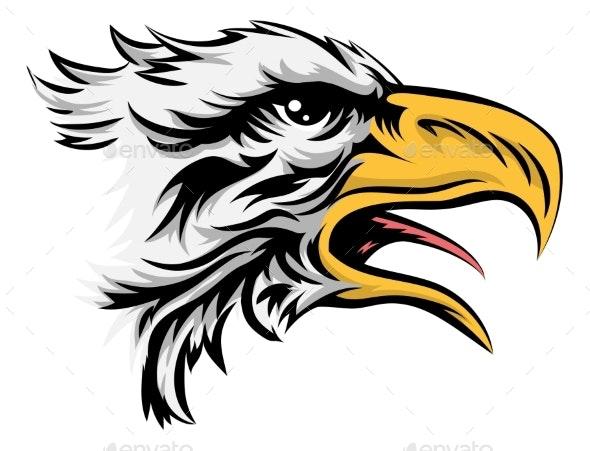 Eagle Head - Animals Characters