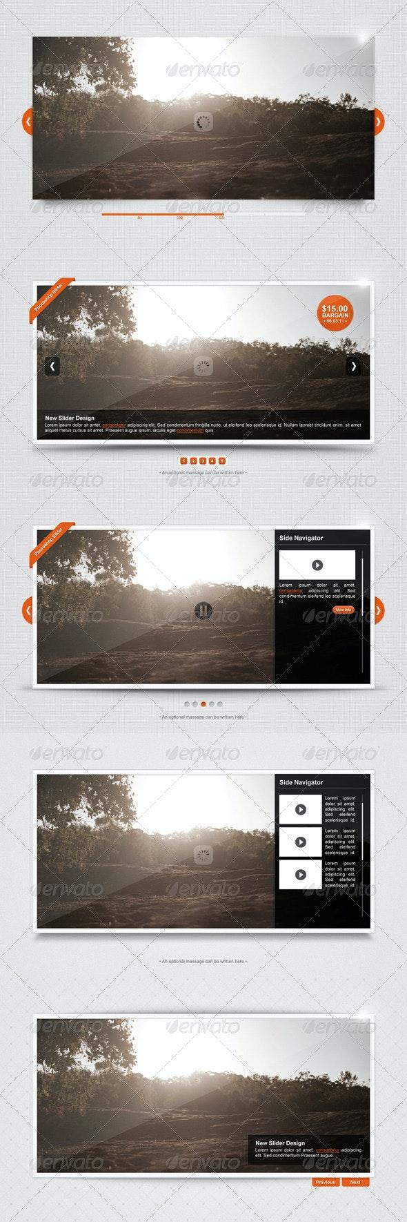 Sleek Image Slider - Sliders & Features Web Elements