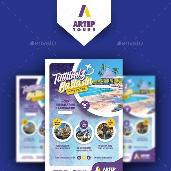Travel Tour Poster Templates