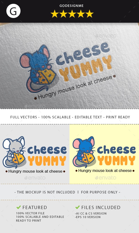 Cheese Logo - Animals Logo Templates