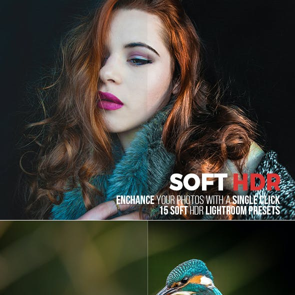 15 Soft HDR Lightroom Presets