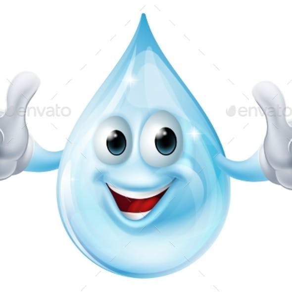 Water Drop Character