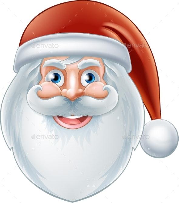 Cartoon Happy Santa Claus - Seasons/Holidays Conceptual