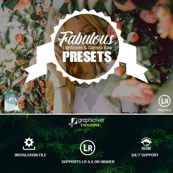 35 Fabulous Collection Presets For Lightroom & Camera Raw