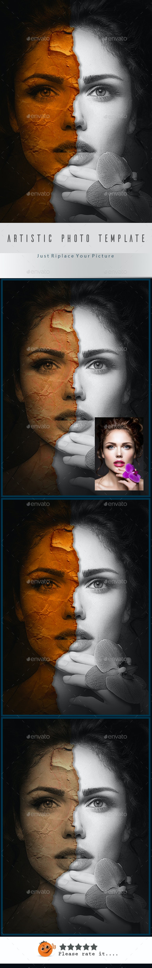 Artistic Photo Template v05