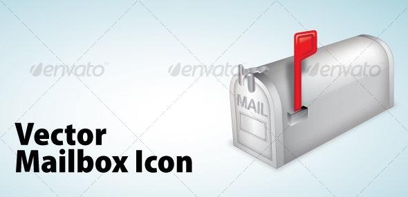 Mailbox Icon - Web Technology