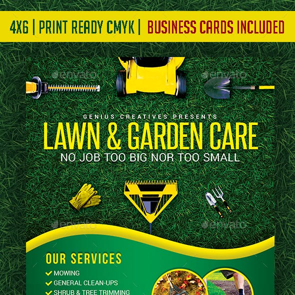 Lawn, Garden, & Landscaping template