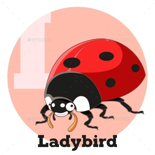 ABC Cartoon Ladybird - Animals Characters