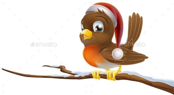 Christmas Robin - Animals Characters