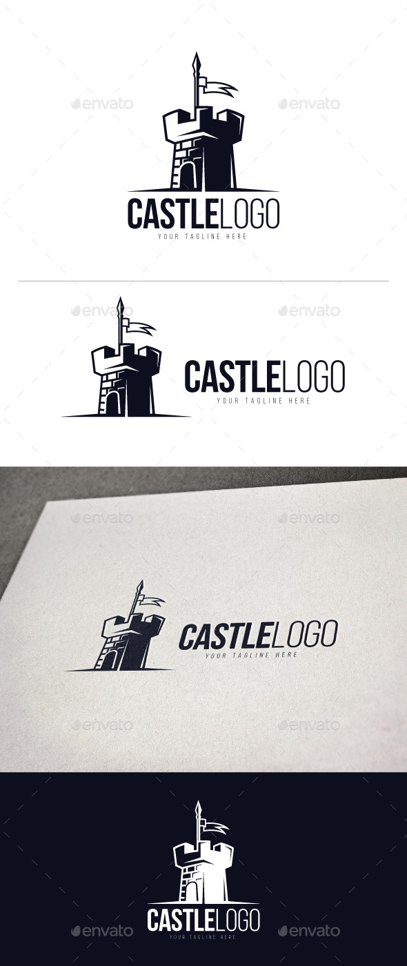 Castle Logo - Buildings Logo Templates