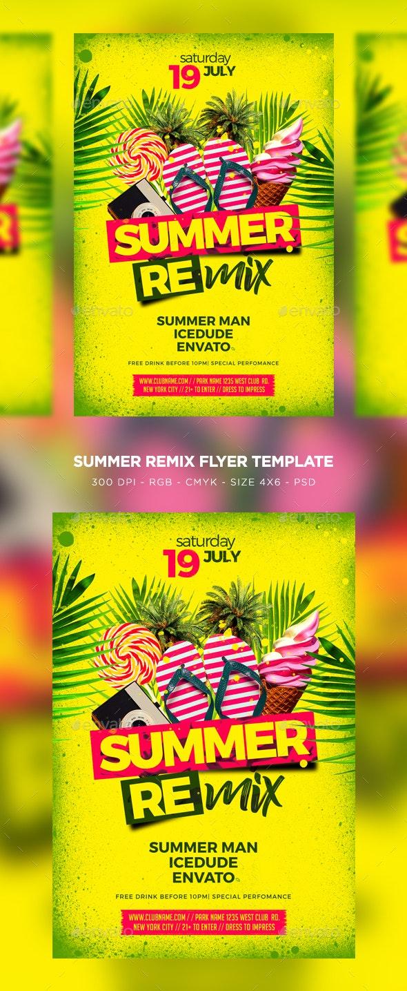 Summer Remix - Clubs & Parties Events