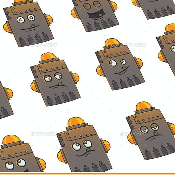 Iron Robot Set