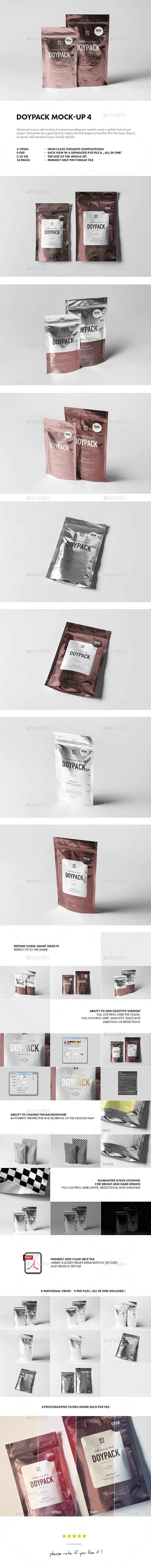 Doypack Mock-up 4 - Miscellaneous Packaging