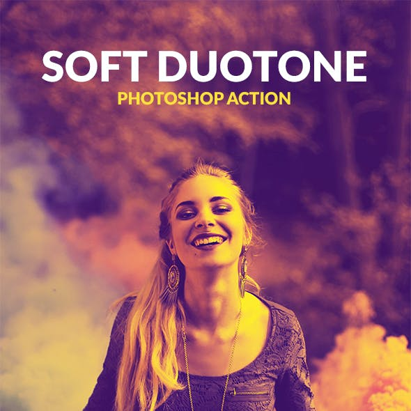 Soft Duotone - Photoshop Action
