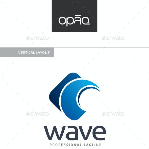 Ocean Wave Spin Logo