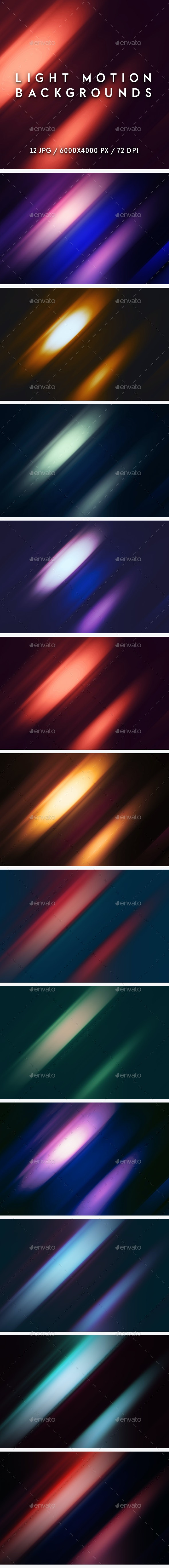 Light Motion Backgrounds - Abstract Backgrounds