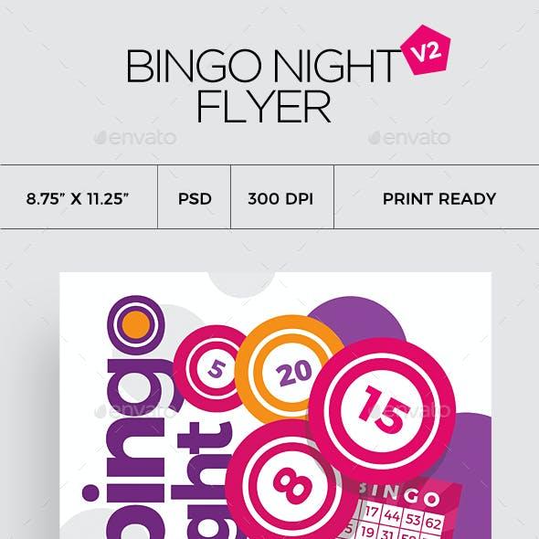 Bingo Flyer Template V2