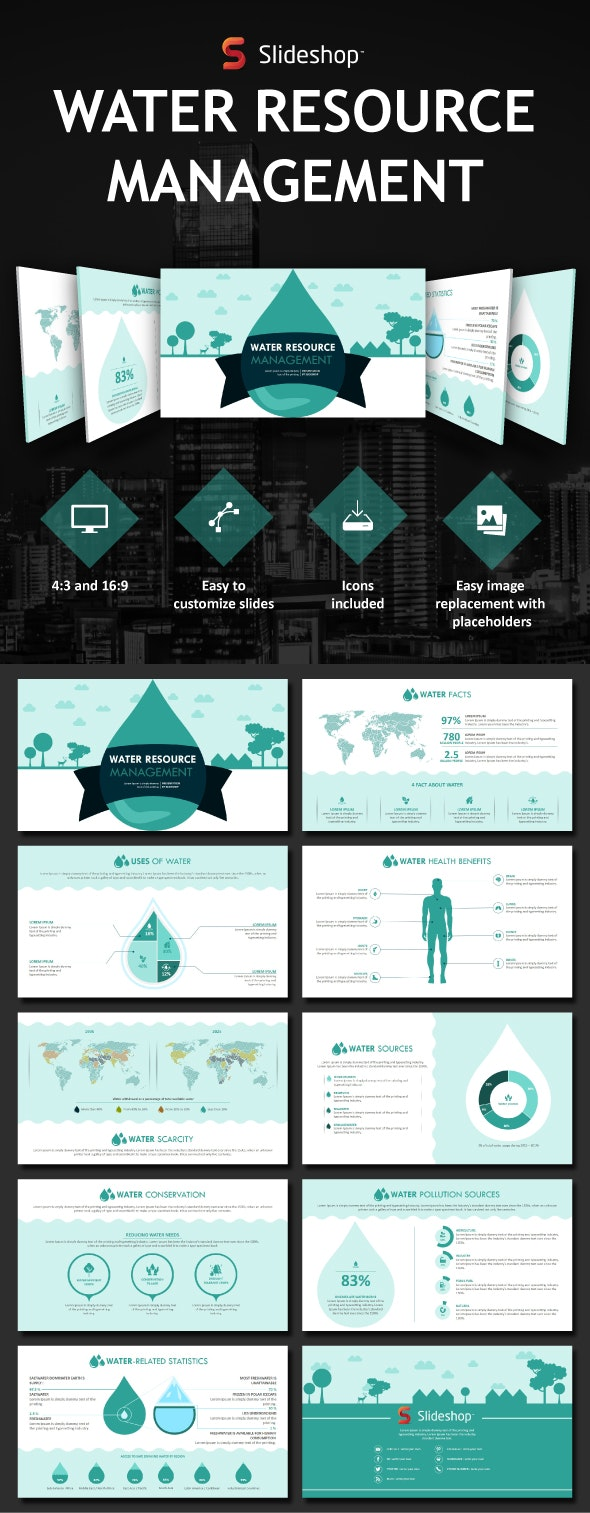 Water - PowerPoint Templates Presentation Templates