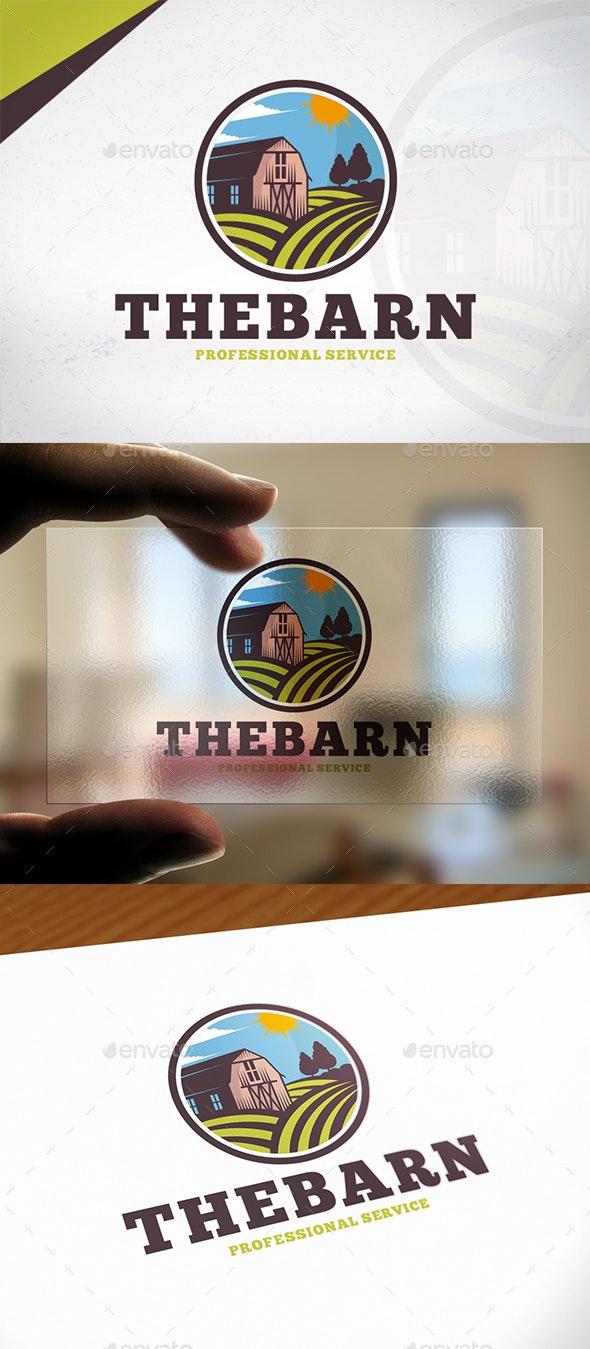 The Barn Logo Template