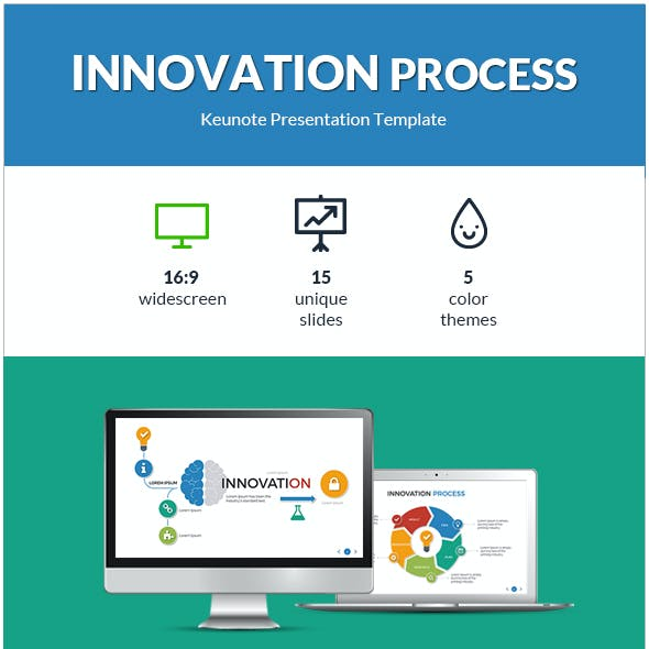 Innovation Process Keynote Presentation Template