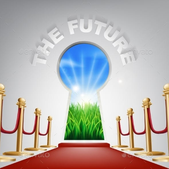 The Future Conceptual Illustration