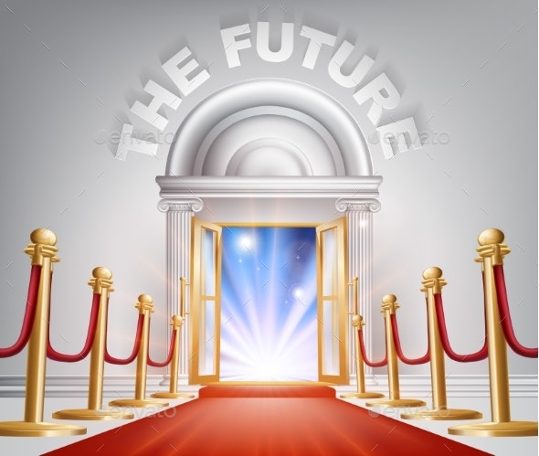 The Future Red Carpet Door - Miscellaneous Seasons/Holidays