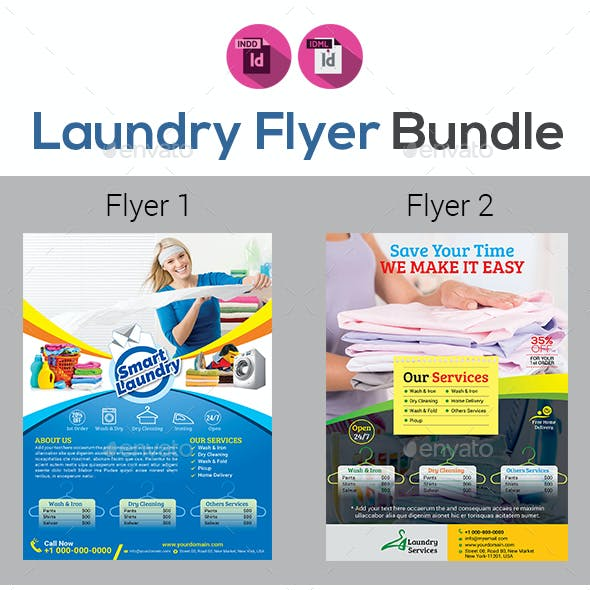 ironing service flyer template.html