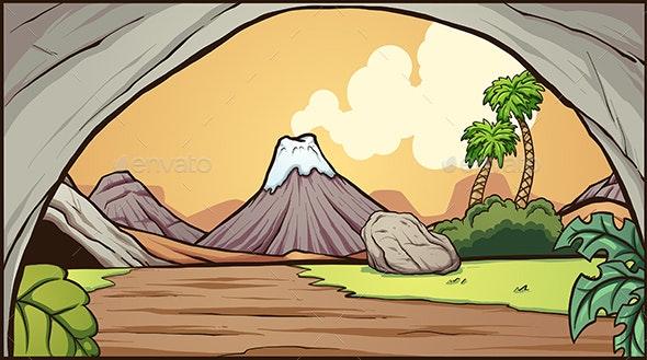 Prehistoric Background - Landscapes Nature