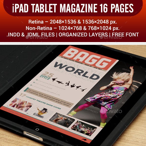 iPAD TABLET MAGAZINE 16 PAGES