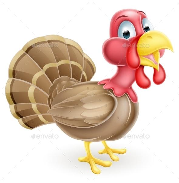 Turkey Cartoon - Animals Characters