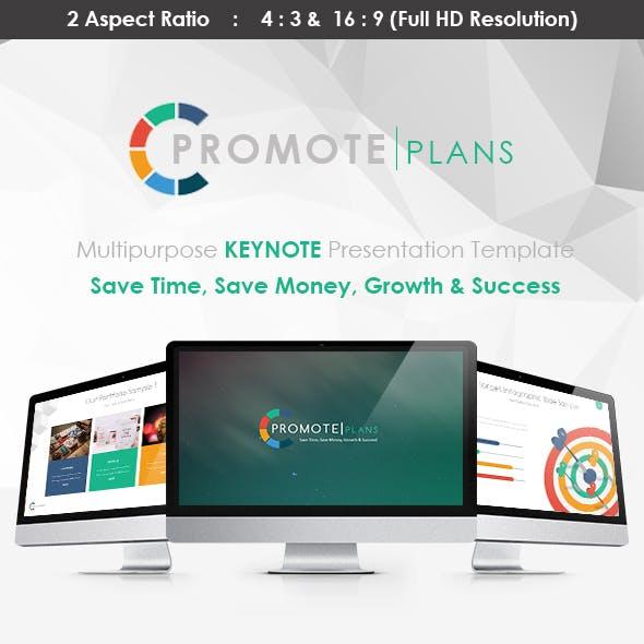 PROMOTE - KEYNOTE Presentation Template