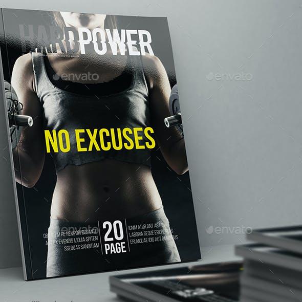 Hard Power Magazine Template