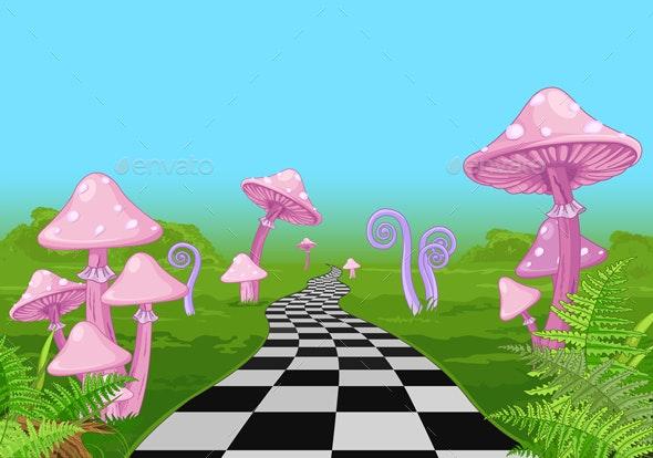 Wonderland Road - Landscapes Nature