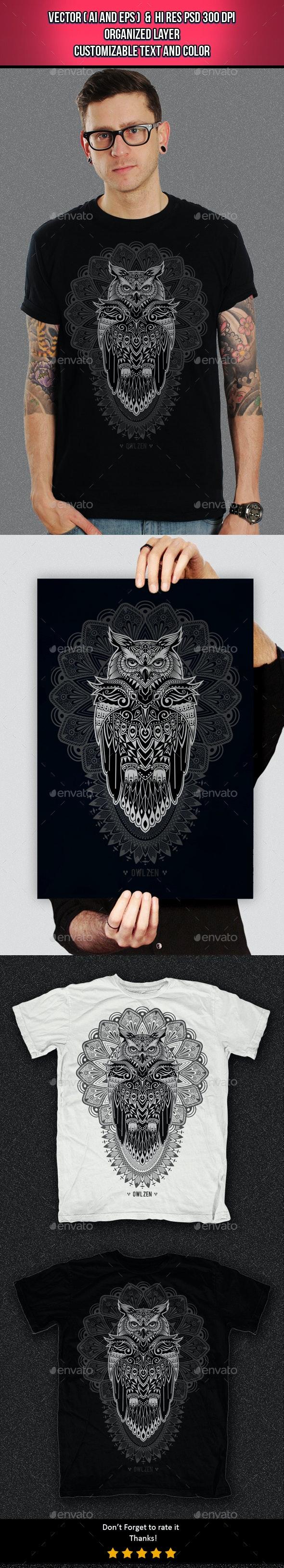 Owl Zen - Clean Designs