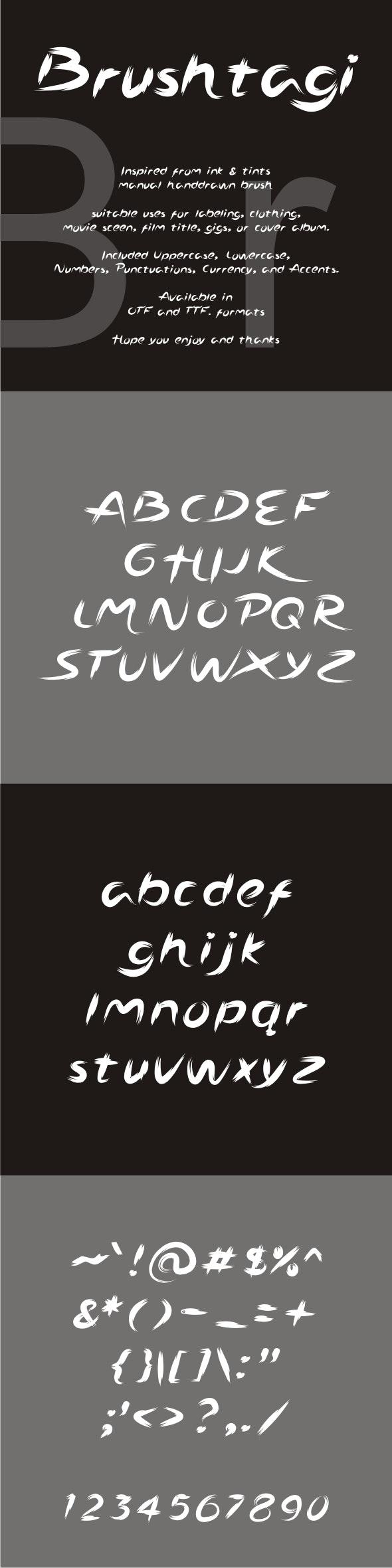 Brushtagi - Hand-writing Script