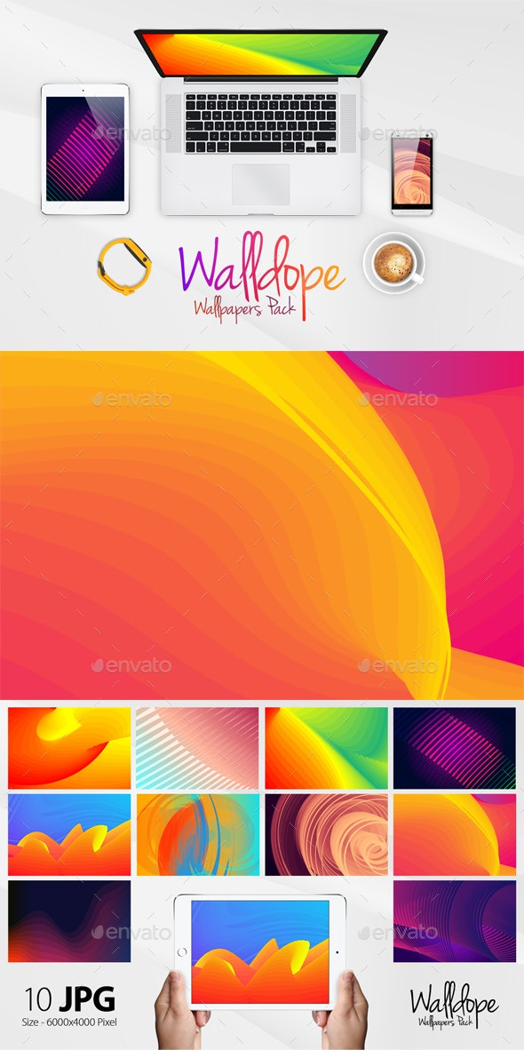 Walldope Abstract Wallpapers Pack 1 - Abstract Backgrounds