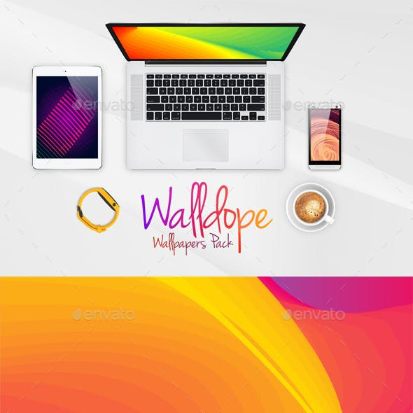 Walldope Abstract Wallpapers Pack 1