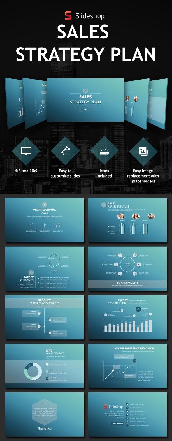Sales Strategy Plan - PowerPoint Templates Presentation Templates