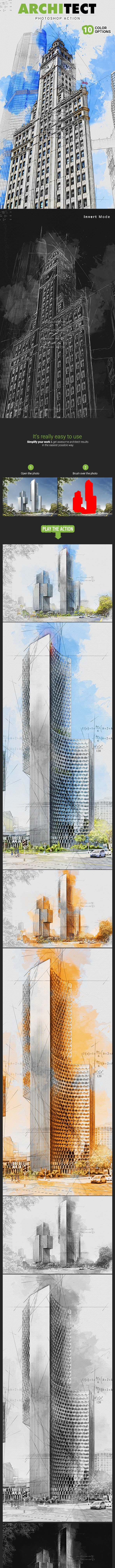 Architect Photoshop Action - Photo Effects Actions