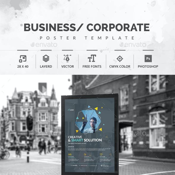 Corporate Business Poster
