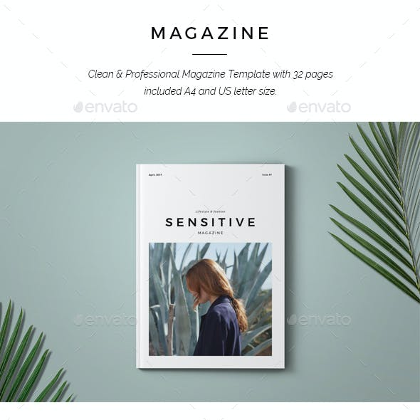 Sensitive Minimal Magazine