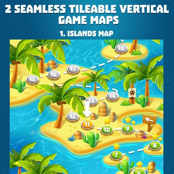 2 Tropical Seamless Game Maps