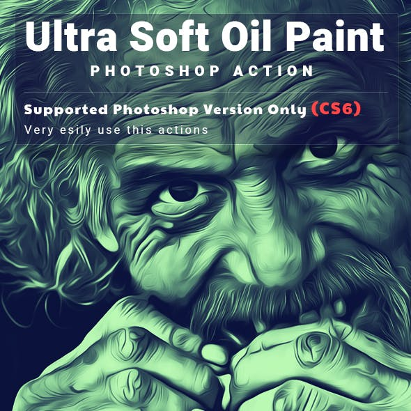 Ultra Soft Oil Paint Action