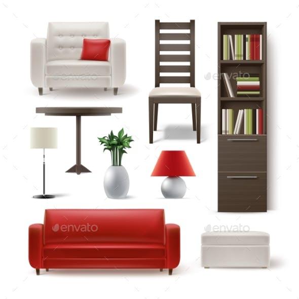 Set of House Furniture