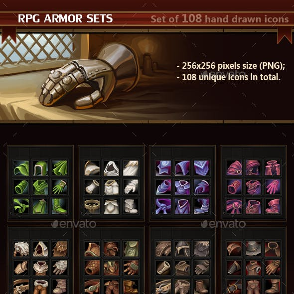 RPG Armor Sets