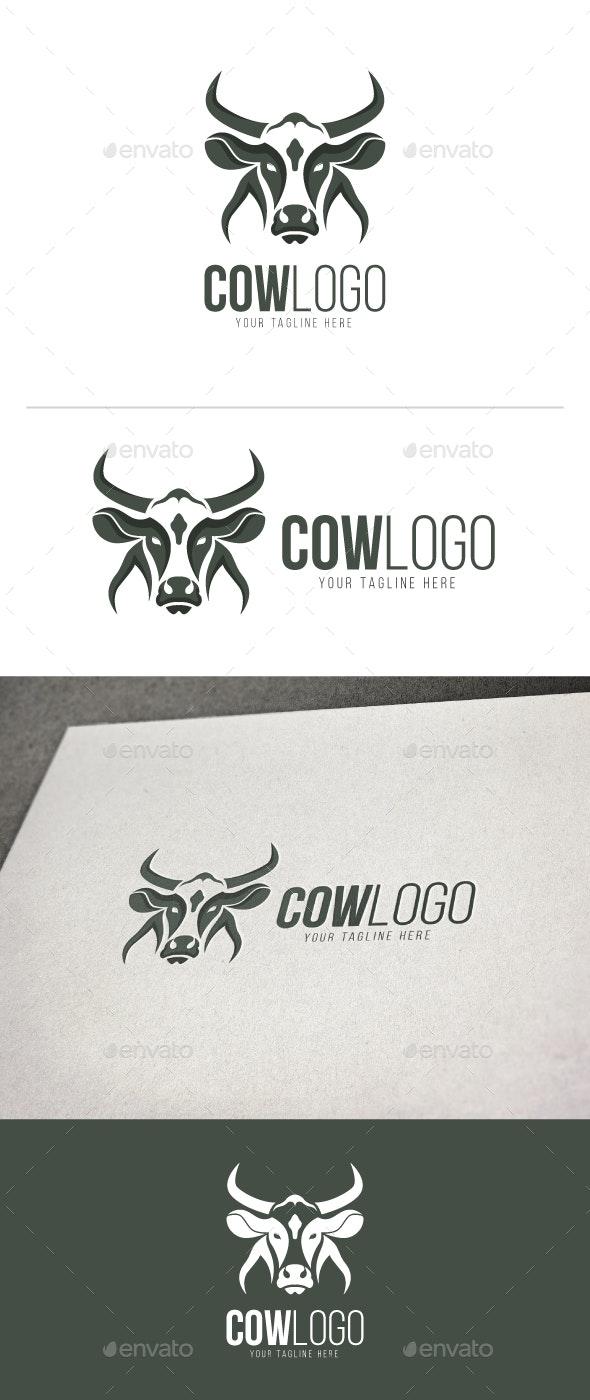Cow Logo - Animals Logo Templates