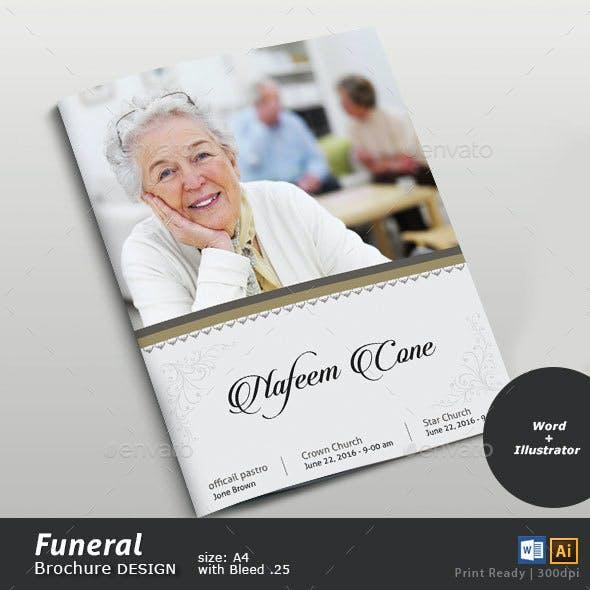 Funeral Brochure Design